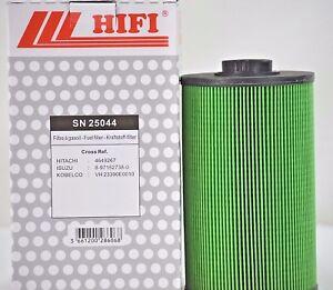 Fuel Filter SN 25044 for KOBELCO  part # VH23390E0010 ,HITACHI # 4649267,P502423