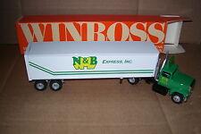 1993 N&B Express Deerfield MA Winross Diecast Trailer Truck