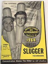 Louisville slugger yearbook 1964 Vintage Mantle, Mays, Aaron, Torre Yankees MLB
