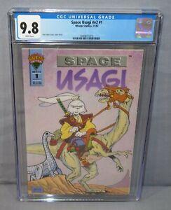 SPACE USAGI YOJIMBO v2 #1 (Stan Sakai) CGC 9.8 NM/MT White Pages Mirage 1993