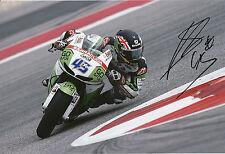SCOTT REDDING mano firmato GO&FUN HONDA GRESINI 12x8 FOTO 2014 MotoGP 11.