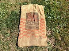 Peebles' Whey Products For Poultry & Animal Nutrition Burlap Sack