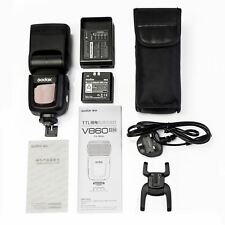 Godox Ving V860II-N - 2.4 G GN60 i-TTL HSS Li-on Speedlight Flash Kit Pour Nikon