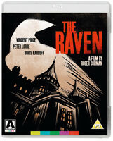 The Raven Blu-Ray (2015) Boris Karloff, Corman (DIR) cert PG ***NEW***