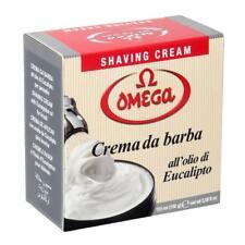 Omega Shaving Cream in Bowl, Made in Italy 5.2oz.