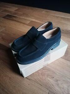 Dr Martens Suede Loafers Black UK10