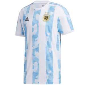 Argentina 2021 Copa America Home Soccer Jersey Aeroready Loose fit Adidas