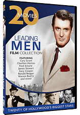 Leading Men Collection - 20 Movie Set,Cary Grant, Gary Cooper, Charlton Heston