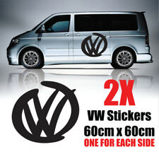 VW Transporter Graphics logo Camper Van  Decals Stickers T4 T5 Caddy rv22