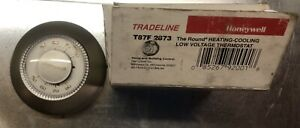 Honeywell T87F 2873 Tradeline Heating-Cooling Round Thermostat *New Old Stock*