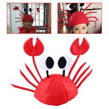 Funny Adjustable Sea Animal Lobster Crawfish Crab Felt Hat Cap Costume Party