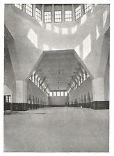 D0677 Esposizione di Torino - Palazzo della Chimica - Stampa - 1928 old print