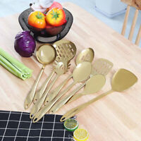 Stainless Steel Kitchen Cooking Utensil  Serving Tools Server Spatula Spoon Hot