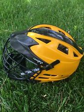 cascade cpx-r lacrosse helmet (black And Yellow)