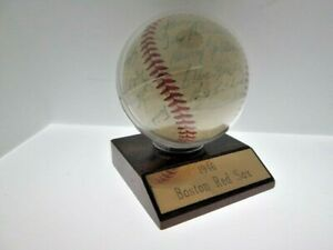 JSA LOA Bobby Doerr Pesky 19 Sigs 1948 Boston Red Sox Signed Autograph Baseball