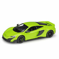 McLaren 675LT Supercar 1:24 Scale Static Model Car Diecast Collection Green Gift
