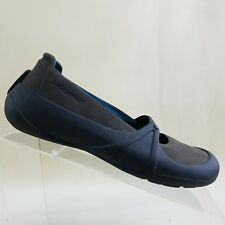 PATAGONIA Women Size 6 Sugar Spice Velvet Brown Mary Jane Shoes Flats  #50