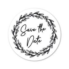 Envelope Seal | Save The Date | Circle | ES300