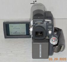 Hitachi DZ-BX35A DVD Camcorder 24x Optical Zoom SD Card Video Camera