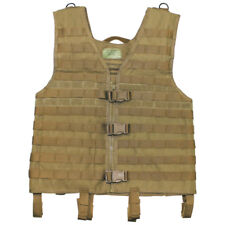 Army Tactical Light MOLLE Vest Modular System Combat Airsoft Adjustable Coyote