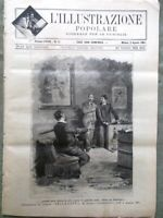 L'illustrazione Popolare 2 Agosto 1891 Faccio Cremolino Montesuello Venezia Asia