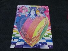 Lisa Frank PUPPY LOVE Sparkle Glitter Folder