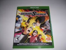Original Box Case Replacement Microsoft Xbox One XB1 Naruto Shinobi Striker