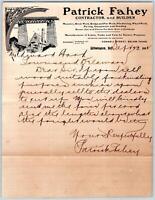 1902 WILMINGTON DELAWARE*DE*PATRICK FAHEY*CONTRACTOR BUILDER*MASONRY*CONNELL ST