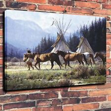 """HD Art  Canvas Print,Oil Painting The Morning of A New Day A6005,16""""x20"""""""