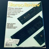 VTG Stereo Review Magazine March 1986 - Joni Mitchell / Guide to Blank Tape