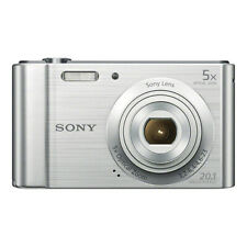 Sony Cyber-shot DSC-W800 20.1MP Digital Camera Silver-FOR PARTS/REPAIR