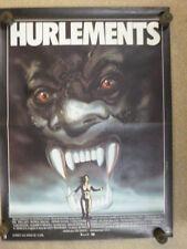 Affiche Film originale; HURLEMENTS,  de JOE DANTE, 39 X 53 Cm