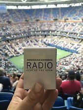 US OPEN 2017 Radio Amex Tennis USTA American Express