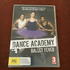 DANCE ACADEMY DVD. BALLET FEVER. ABC.