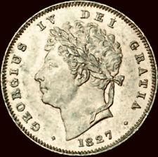 More details for 1827 third farthing george iv nef peck 1453