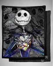 Nightmare Before Christmas Jack Skellington Fleece Blanket Micro Sherpa Throw LG