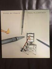 vinyl records- Paul McCartney- Pipes Of Peace- Original 1983 Pressing Ex.