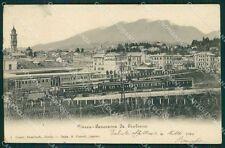 Varese Città Stazione Treno cartolina QK8069