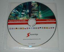 User Manual Betriebsanleitung Handbuch Scania Digital Tachograph SE 5000 auf CD!