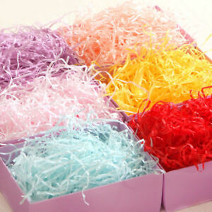 50g Soft Shredded Tissue Hamper Paper Gift Packing Cristmas Basket Filler
