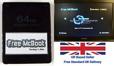 Free McBoot FMCB 1.966 For Sony Playstation 2 PS2 - 64MB Memory Card - ESR - OPL