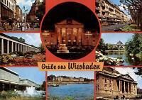 Wiesbaden  -  Spielbank - Kurhaus - Rhein-Main-Halle - Schloss Biebrich  -  1980
