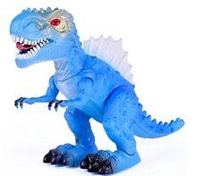 T-Rex Tyrannosaus Dinosaur Walks Roars Figure Light Sound Gift Toy Jurassic Kids