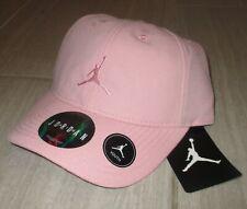 NIKE Pink JUMPMAN AIR JORDAN FLOPPY STRAPBACK HAT/CAP YOUTH GIRLS NEW 9A1922-A5B