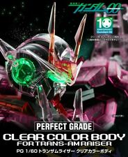 Gundam 00 Raiser Trans-Am Perfect Grade P-Bandai Clear Parts Set