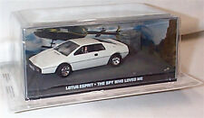 JAMES BOND Lotus Esprit The Spy Who Loved Me New sealed Pack 1:43 scale