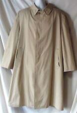 Men's Pile Lined Overcoat Size 46L Beige London Fog