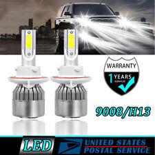 H13 9008 LED Bulb Headlights Hi-Lo For GMC YUKON/XL 1500 2007-2014 XL 2500 2013