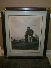 1983 Norman Rockwell Limited Edition Lithograph - Outward Bound 2285/2500