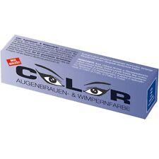 Color Wimpernfarbe Augenbrauenfarbe blau 15ml Wimpern-Färbung
